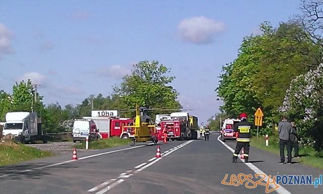 Śmiertelny wypadek w Rumianku