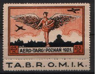 Znaczek okolicznościowy Aero-Targ Foto: wikipedia