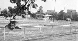 Dworzec na Ratajach 19.07.1979 kilka dni przed oddaniem do użytku