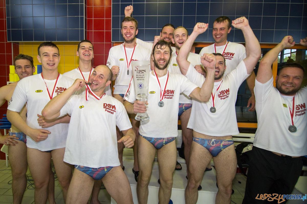 Finł Mistrzostw Polski:  OCMER ŁSTW UW Łódź - DSW Waterpolo  Foto: lepszyPOZNAN.pl / Piotr Rychter