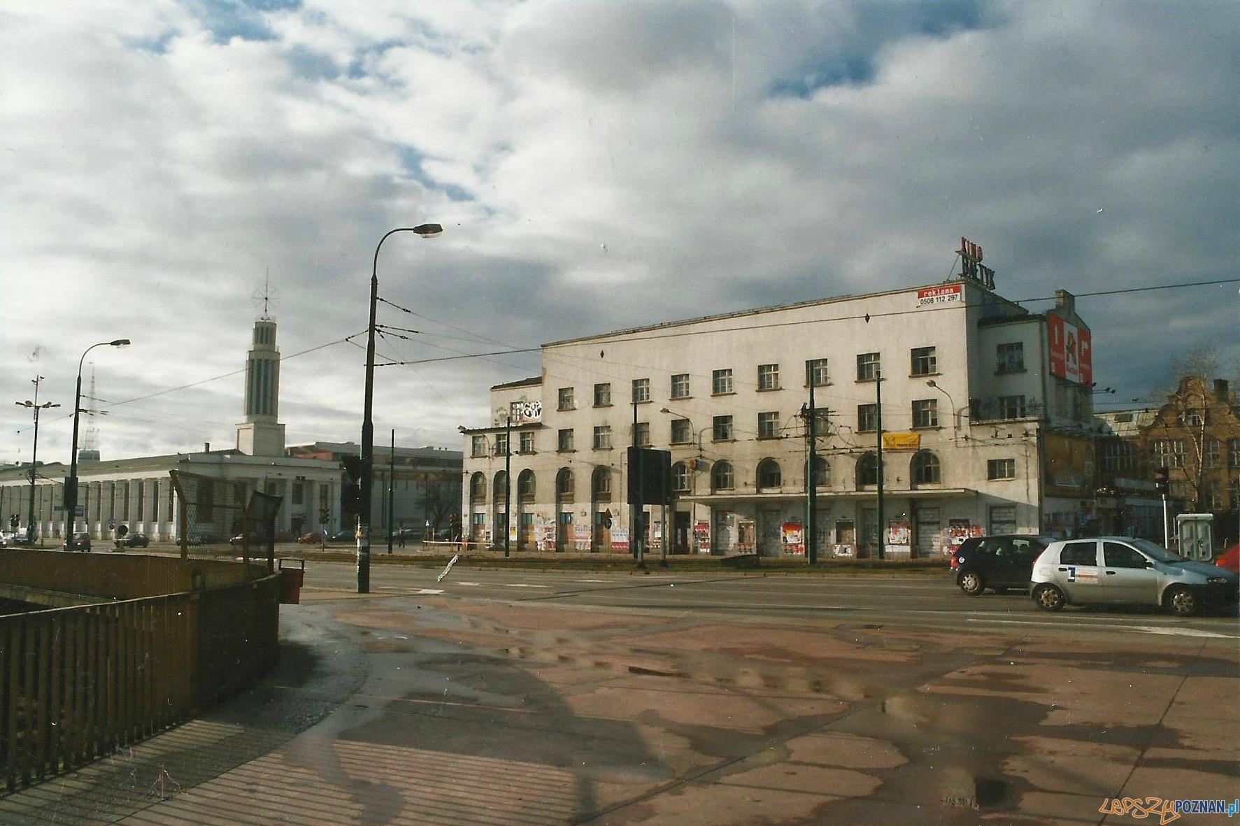 Kino Bałtyk krótko przed rozbiórką
