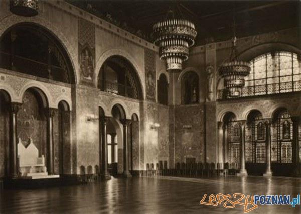 Zamek - sala tonowa ok 1929 r. Foto: materiały informacyjne CK Zamek