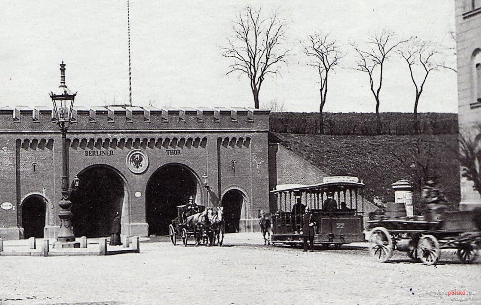 Brama Berlińska ok. 1900