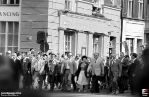 1 maja 1987 - pochod na Głogowskiej Foto: fotopolska