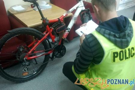 Odzyskany skradziony rower
