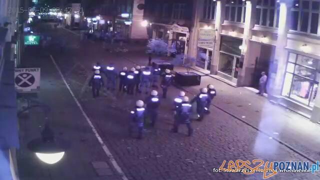 Nocne Zajścia na Wrocławskiej  Foto: Stowarzyszenie ulicy Wrocławskiej