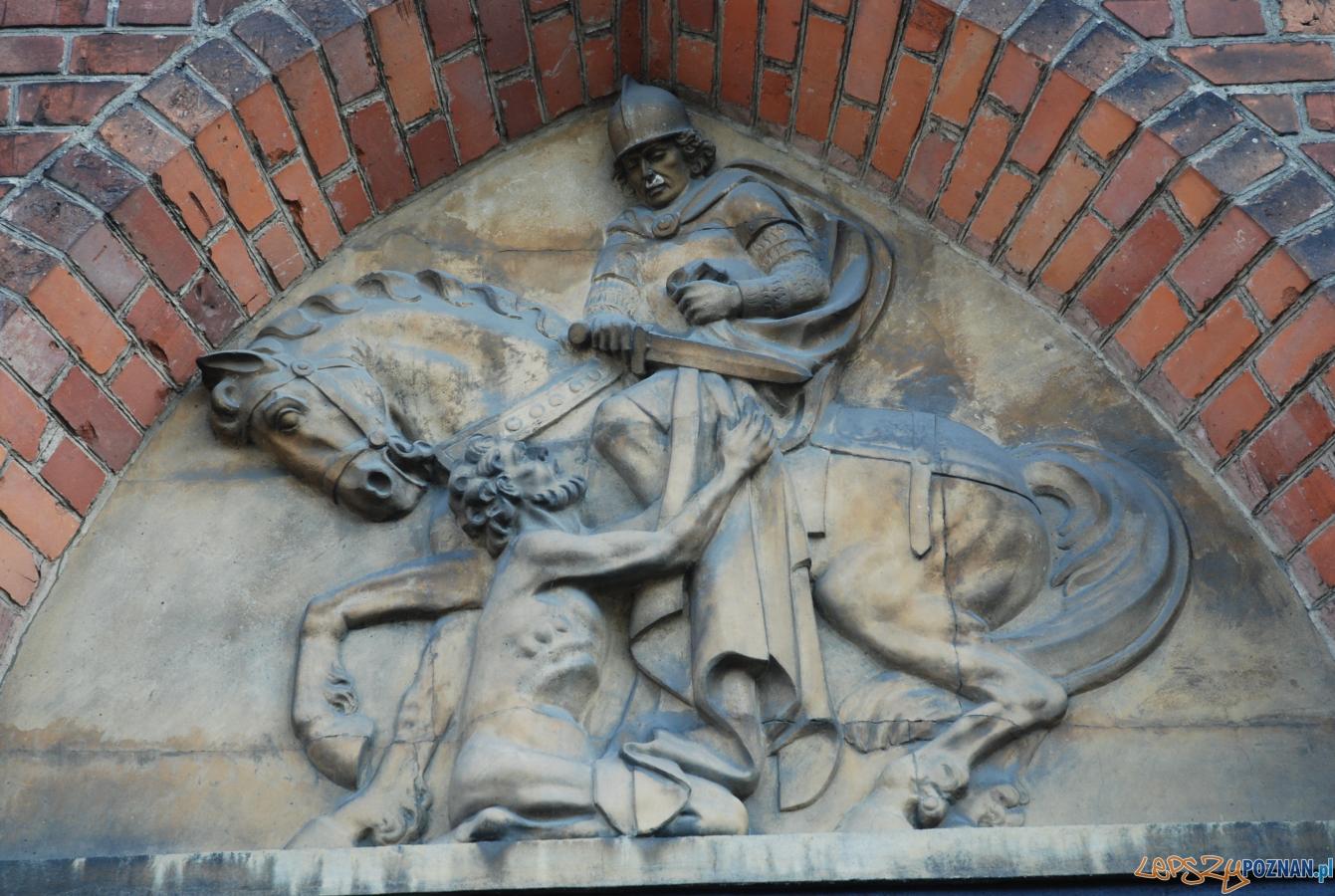 Św. Marcin - płaskorzeźba
