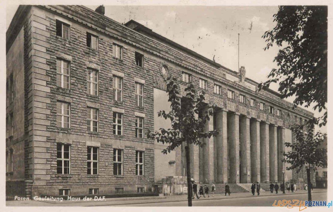 Uniwersytet Ekonomiczny lata okupacji