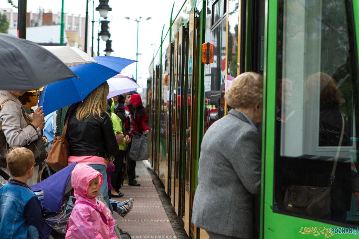 Przystanek tramwajowy  Foto: LepszyPOZNAN.pl / Paweł Rychter