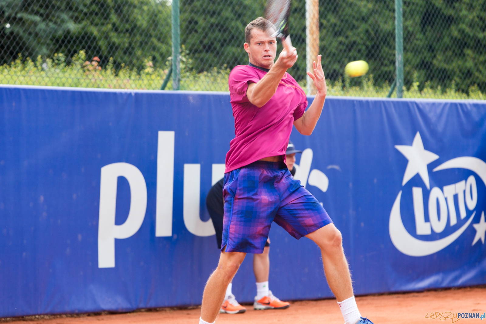 Poznan Open 2015 - Tristan Lamasine - Adam Pavlasek  Foto: lepszyPOZNAN.pl / Piotr Rychter