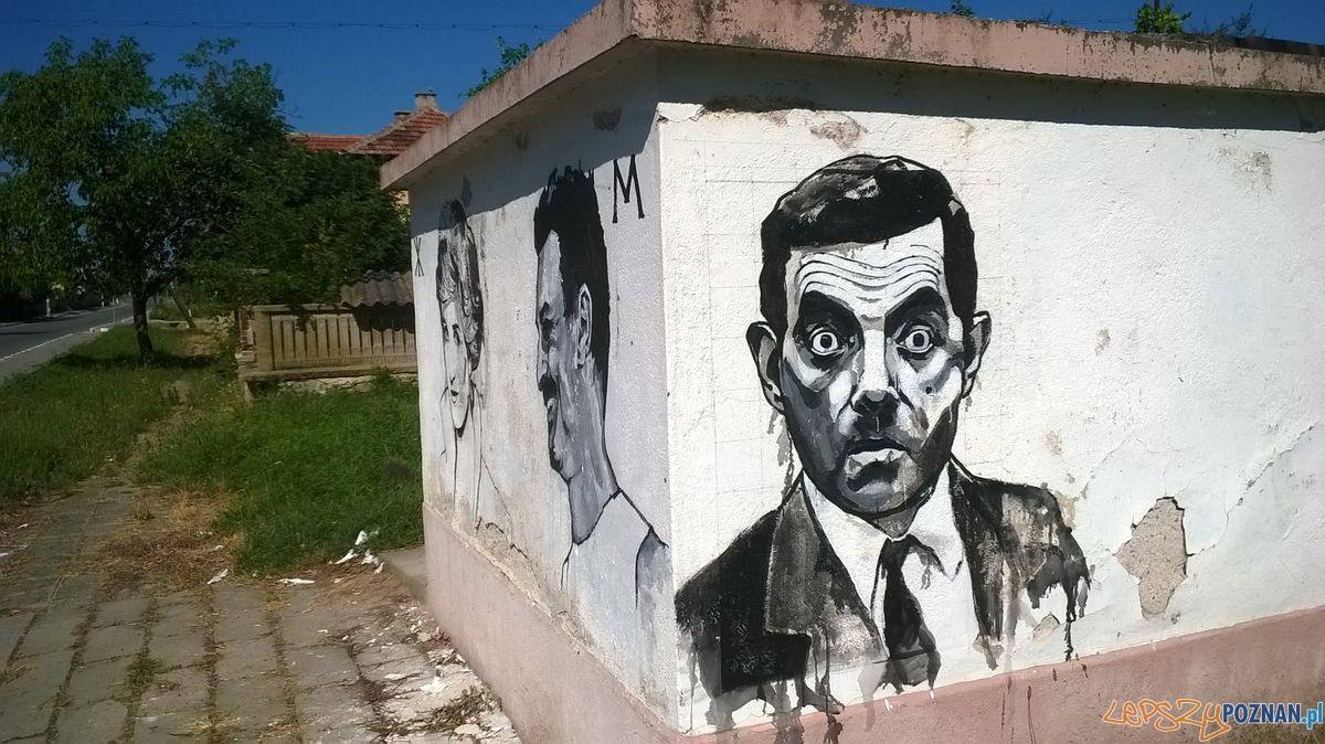 Poznańskie murale na bułgarskiej wsi (14)  Foto: Galeria Ventzi