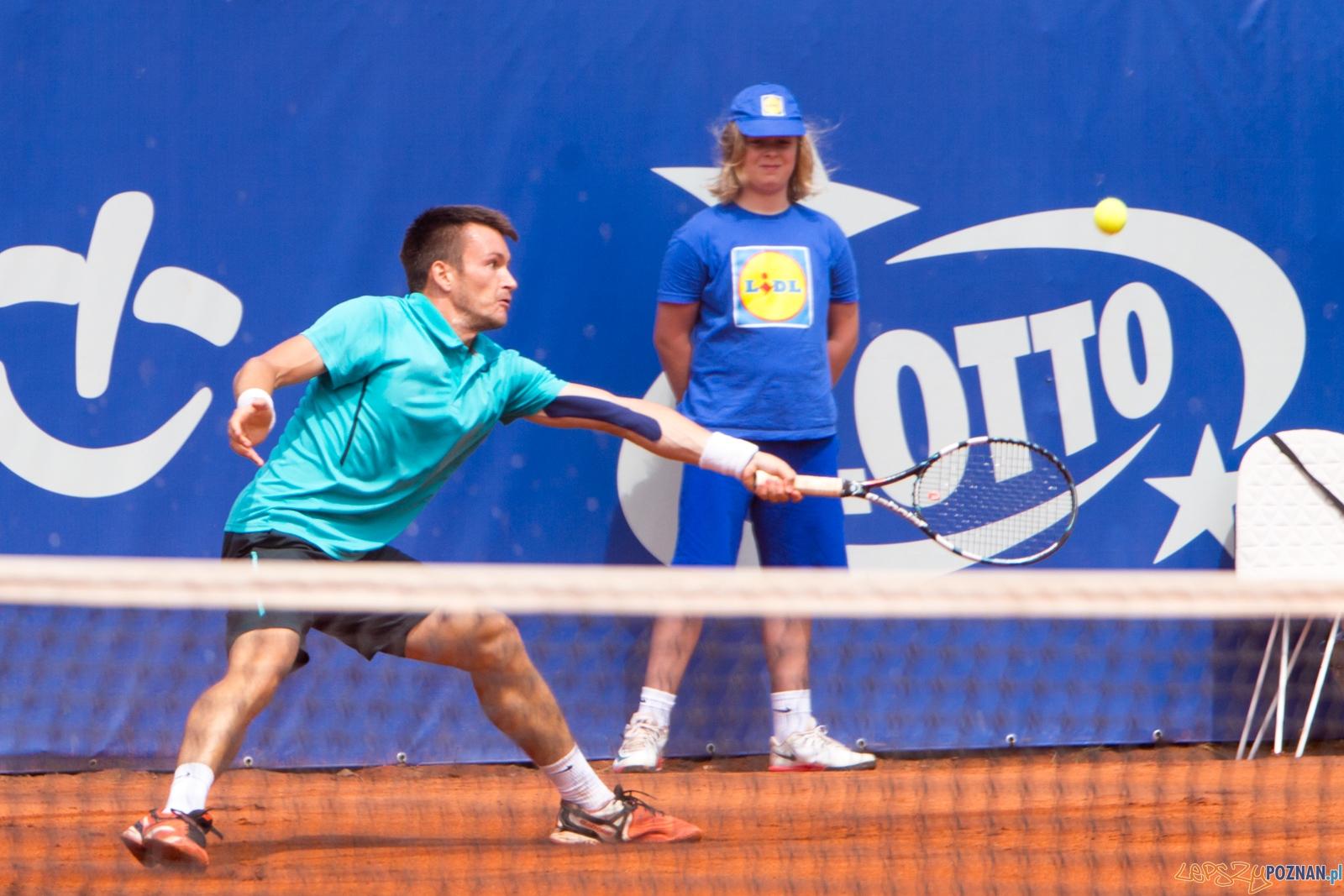 Poznan Open 2015 - Axel Michon vs Michal Konecny  Foto: lepszyPOZNAN.pl / Piotr Rychter
