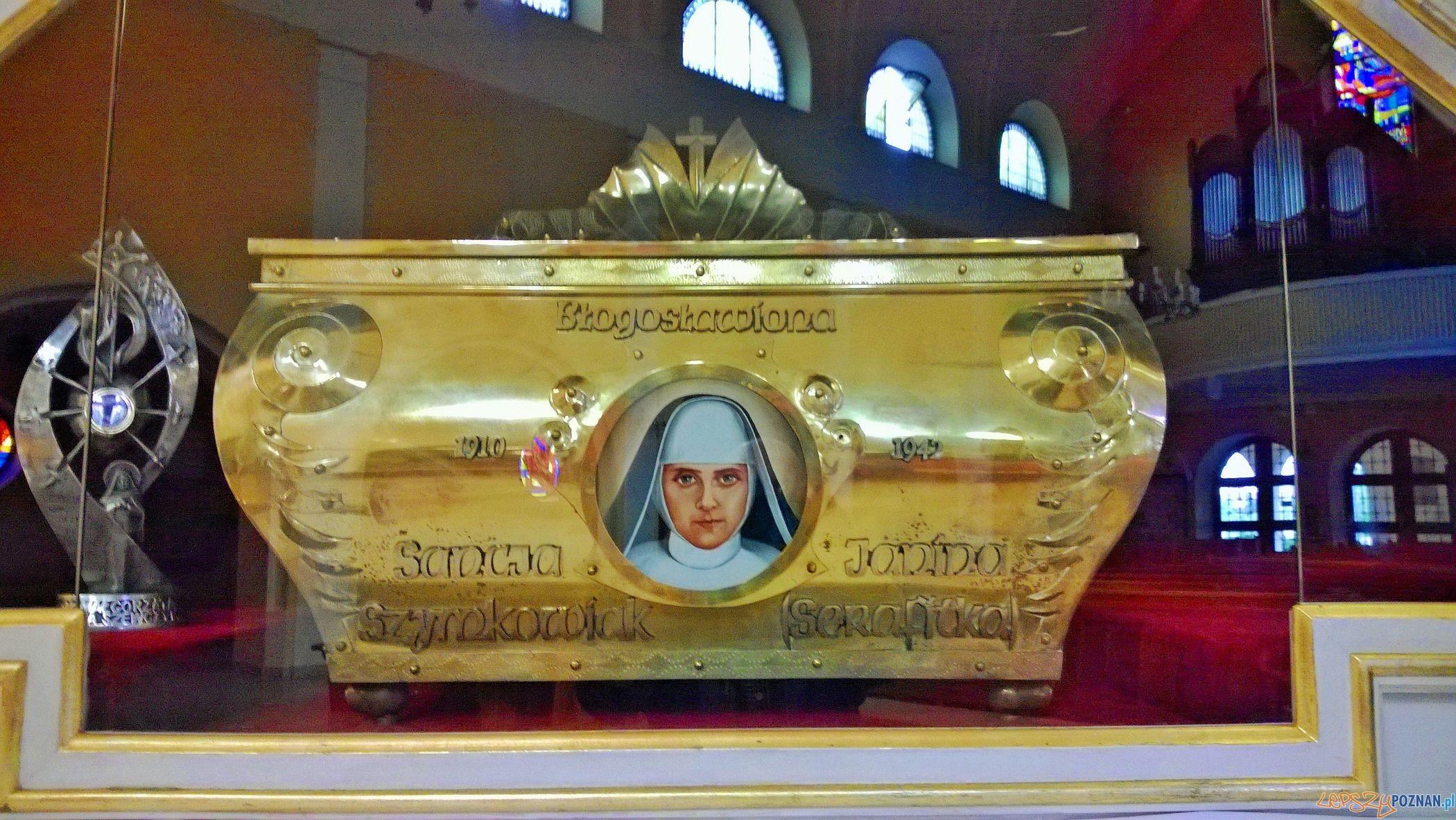 Relikwie Siostry Sancji w Kościele św. Rocha