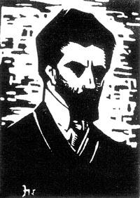 Jerzy Hulewicz Autoportret