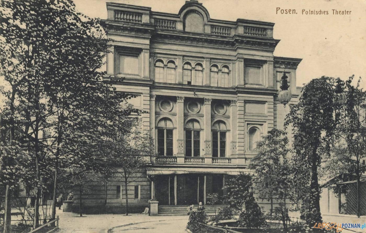 Teatr Polski w zielenii