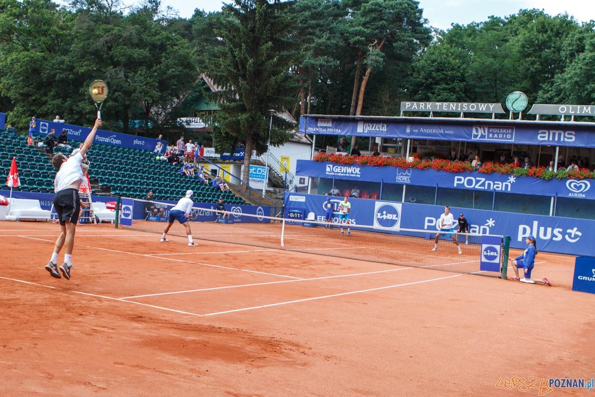 Debel Cornea/Drzewiecki - Poznań Open 2015  Foto: LepszyPOZNAN.pl / Paweł Rychter
