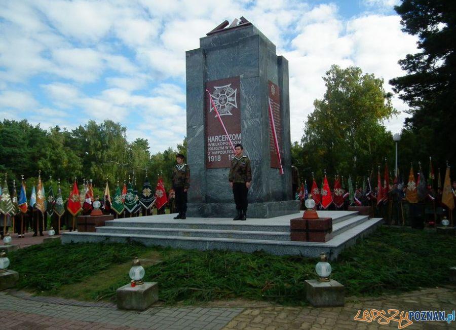 Pomnik Harcerzy na Malcie - uroczyste odsłonięcie 28.09.2013