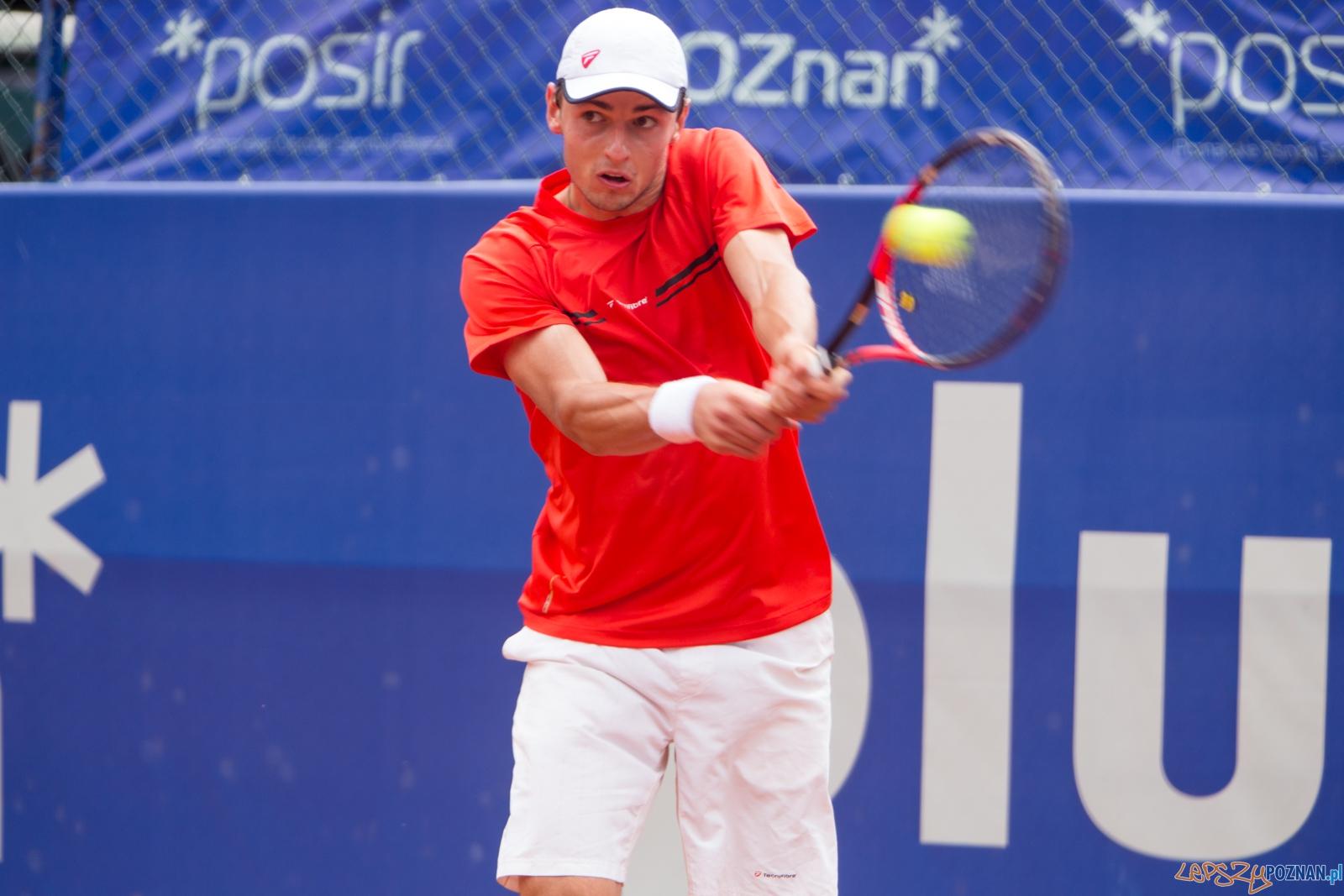 Poznan Open 2015 - Maxim Dubarenco vs Adrian Andrzejczuk  Foto: lepszyPOZNAN.pl / Piotr Rychter