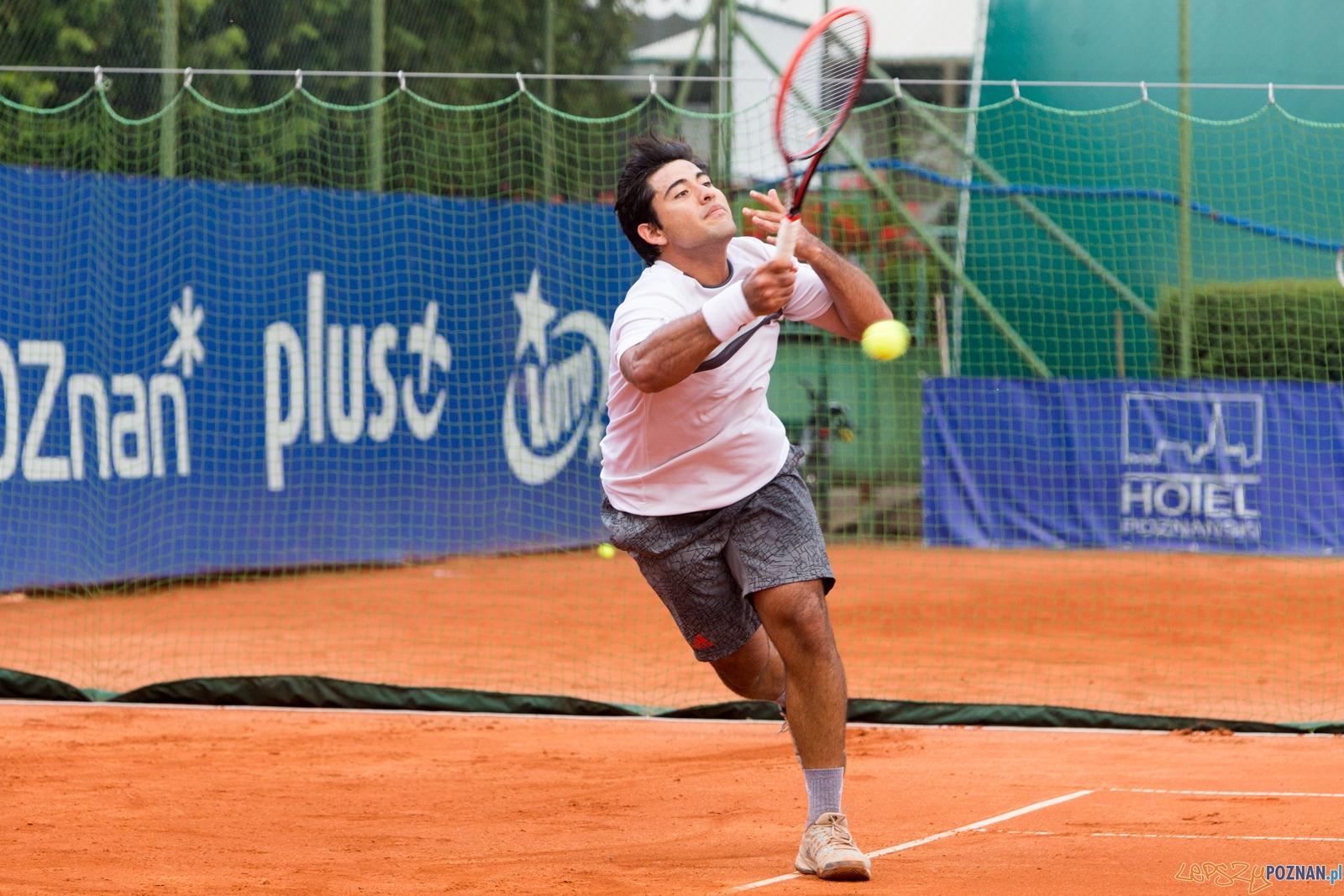 Poznan Open 2015 - Sergio Galdos vs Artem Smirnov  Foto: lepszyPOZNAN.pl / Piotr Rychter
