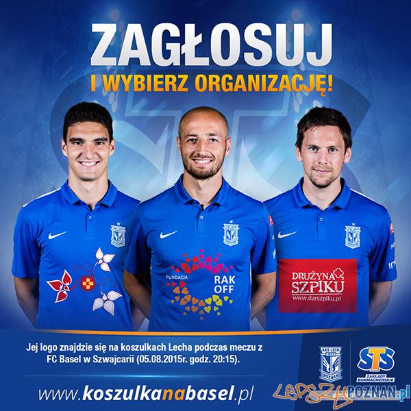 Wybieramy koszulki na mecz rewanżowy z FC Basel