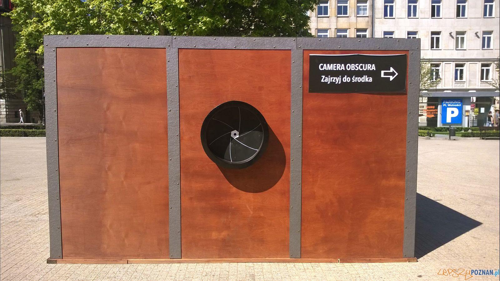 Plac Wolności - Camera obscura  Foto: Tomasz Dworek