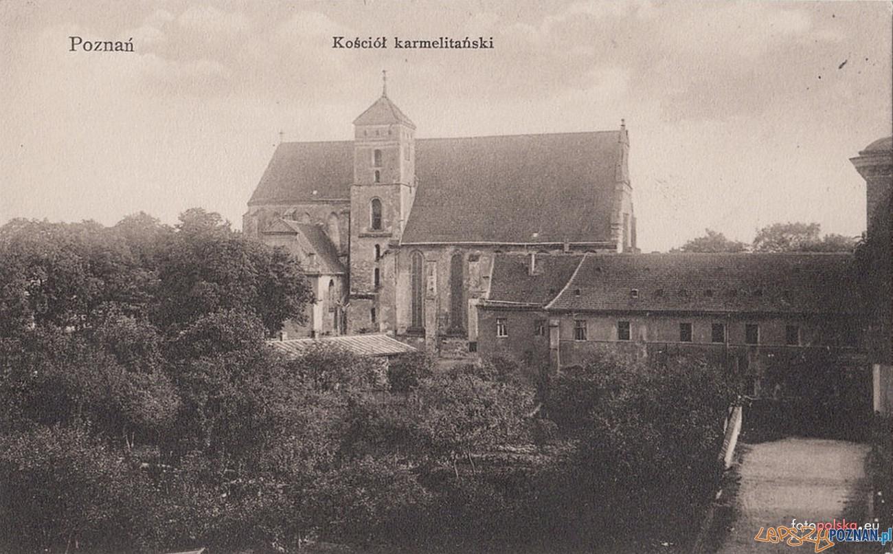 Kościół Bożego Ciała przed II wojną światową  Foto: fotopolska