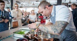 Adam Adamczak - kucharz z Concordia Taste