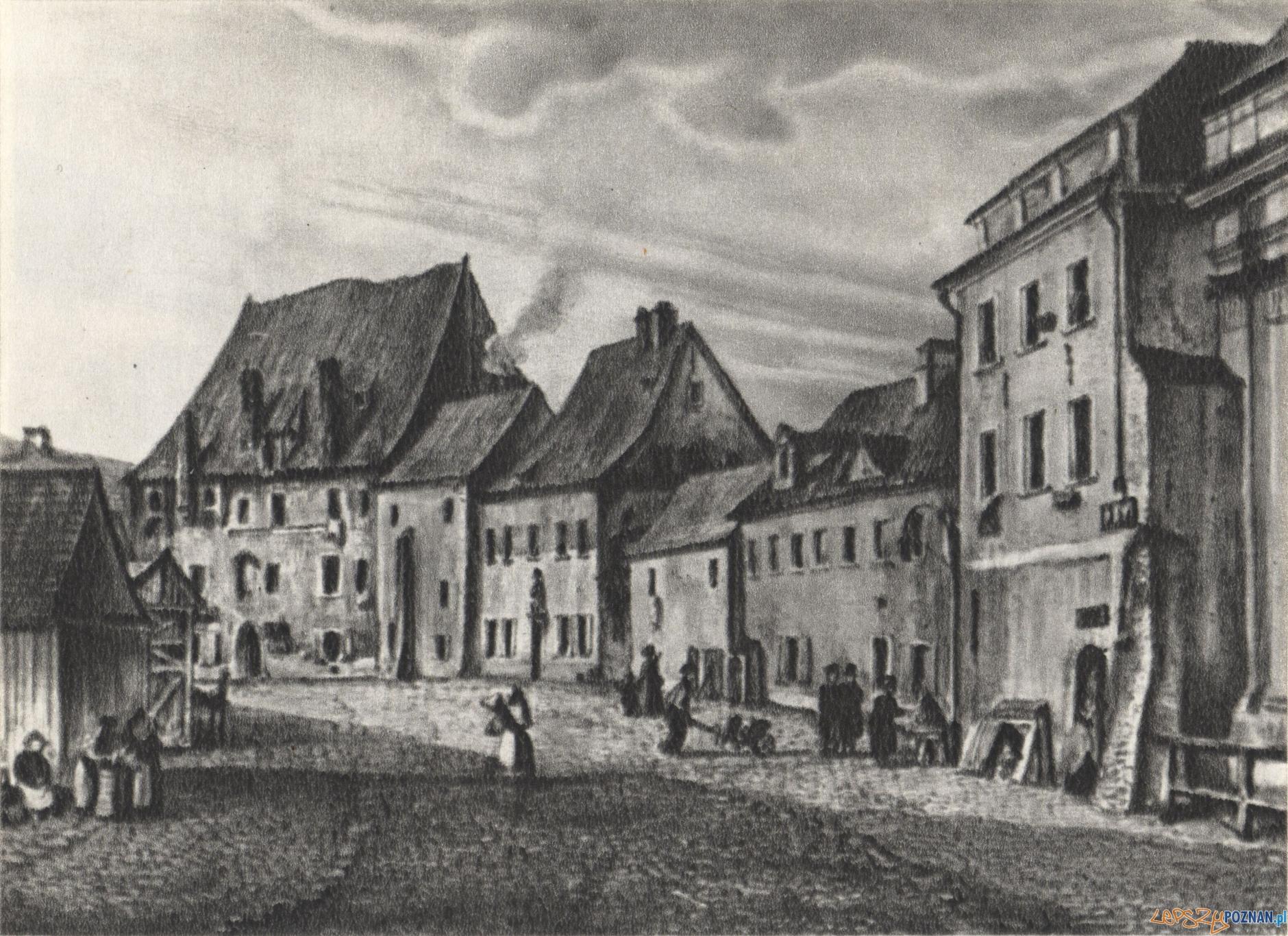 Nowy-Rynek - dzisiejszy Plac Kolegiacki1835-1845