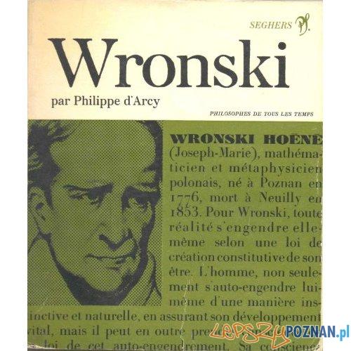 Wroński - okładka książki