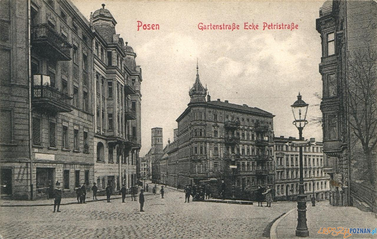 Ogrodowa i Krysiewicza na początku XX wieku