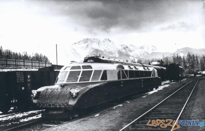 Luxtorpeda w Zakopanem 1936