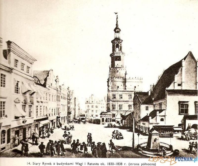 Stary Rynek ok. 1830