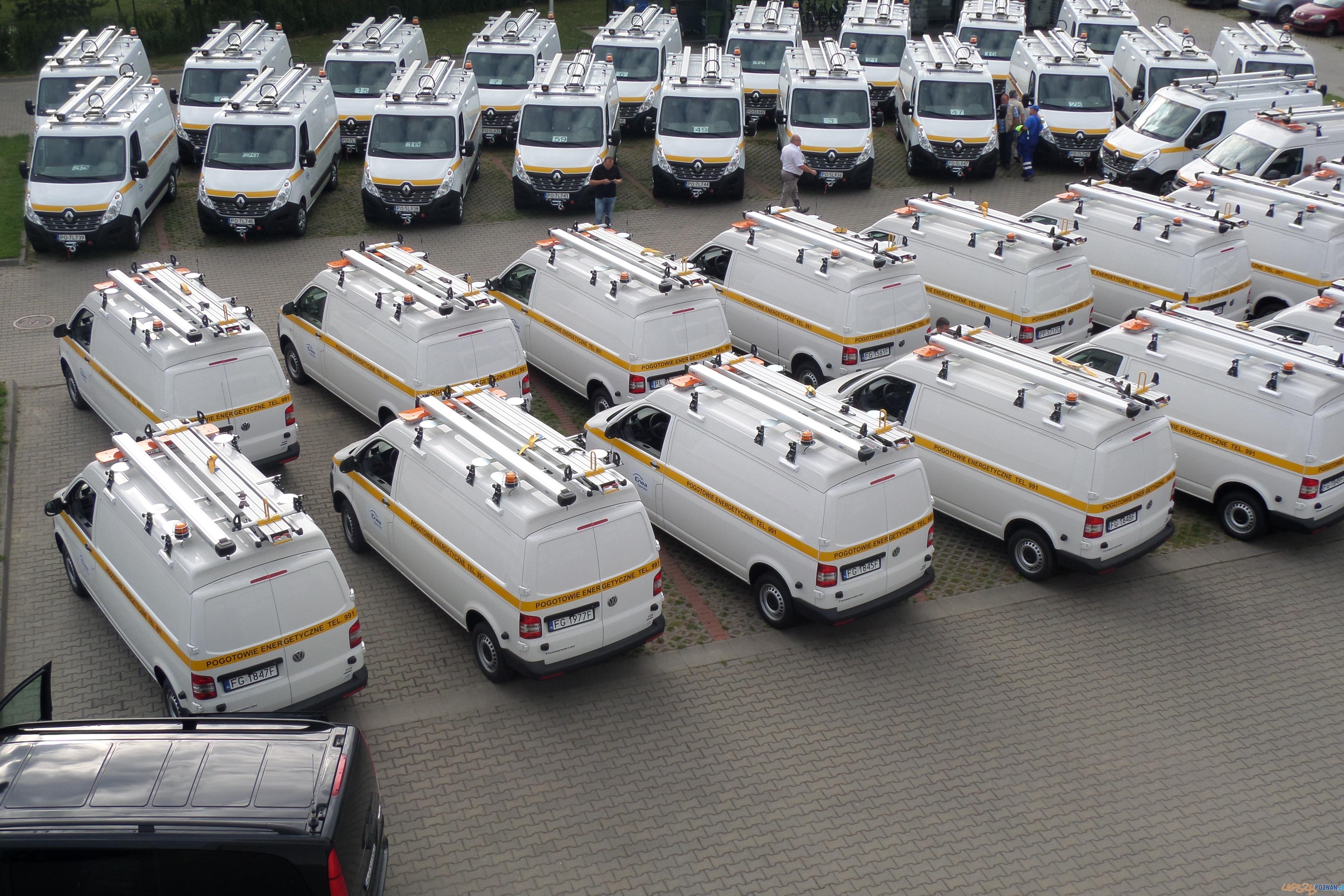 Ponad 250 nowych samochodów pogotowia energetycznego  Foto: mat. prasowe