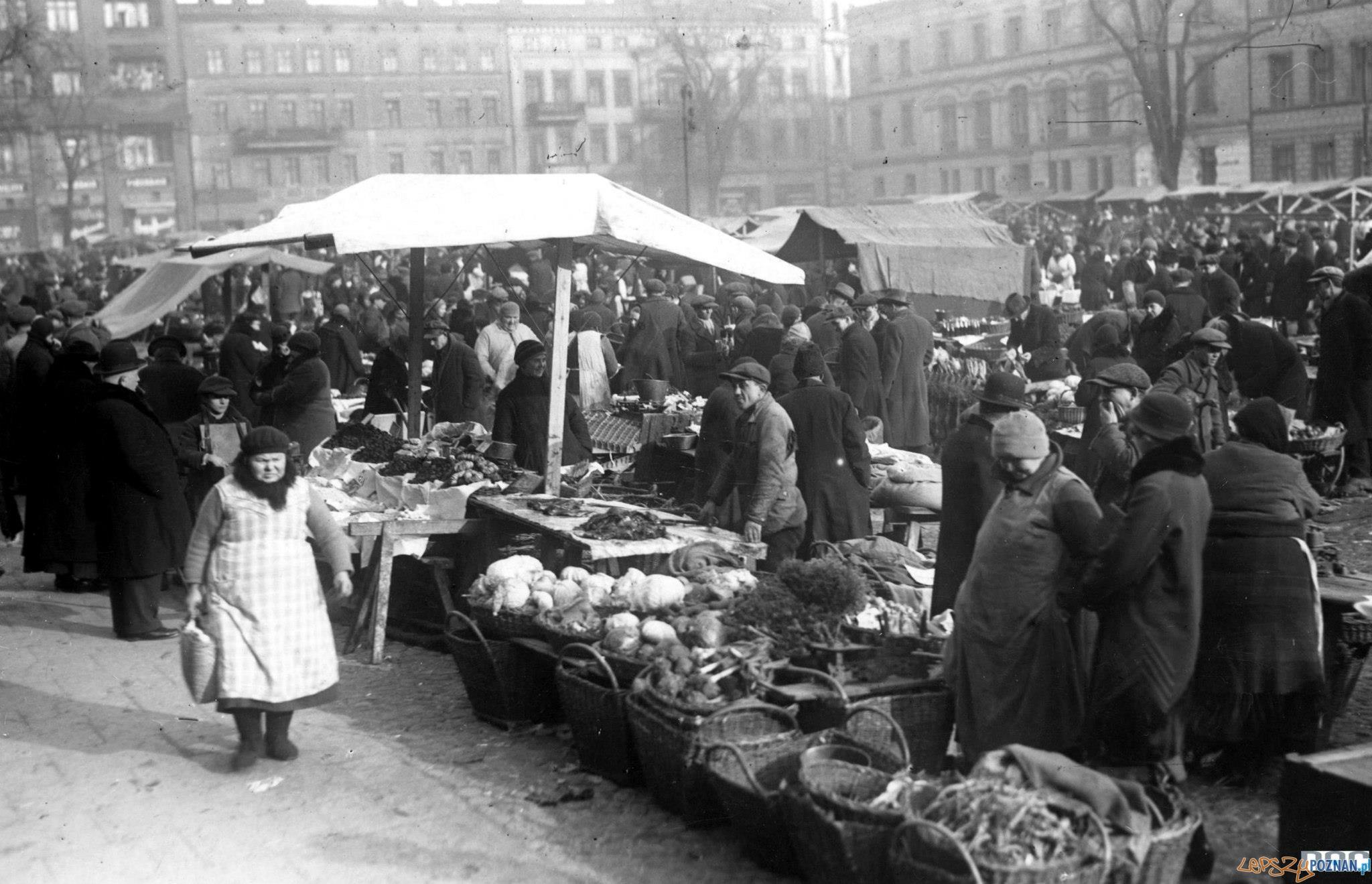 Plac Wielkopolski przed wojną