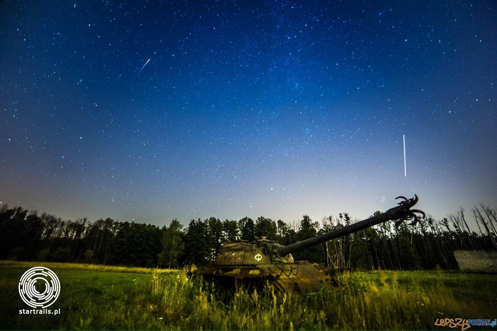 Noc spadających gwiazd  Foto: Startrails & Milky Way Photography