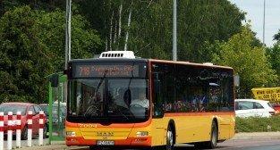 Autobus w Dopiewie