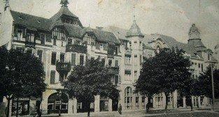 Dabrowskiego - dziś Teatr Nowy 1905-1910
