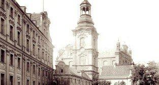 Plac Kolegiacki, lata 80-te XIX wieku