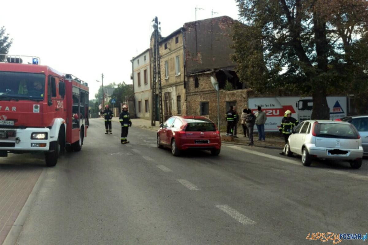 Zderzenie 4 samochodów  Foto:  OSP Luboń / Marek