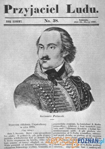Leszczyński Przyjaciel Ludu poświęcony Pułaskiemu - 1841