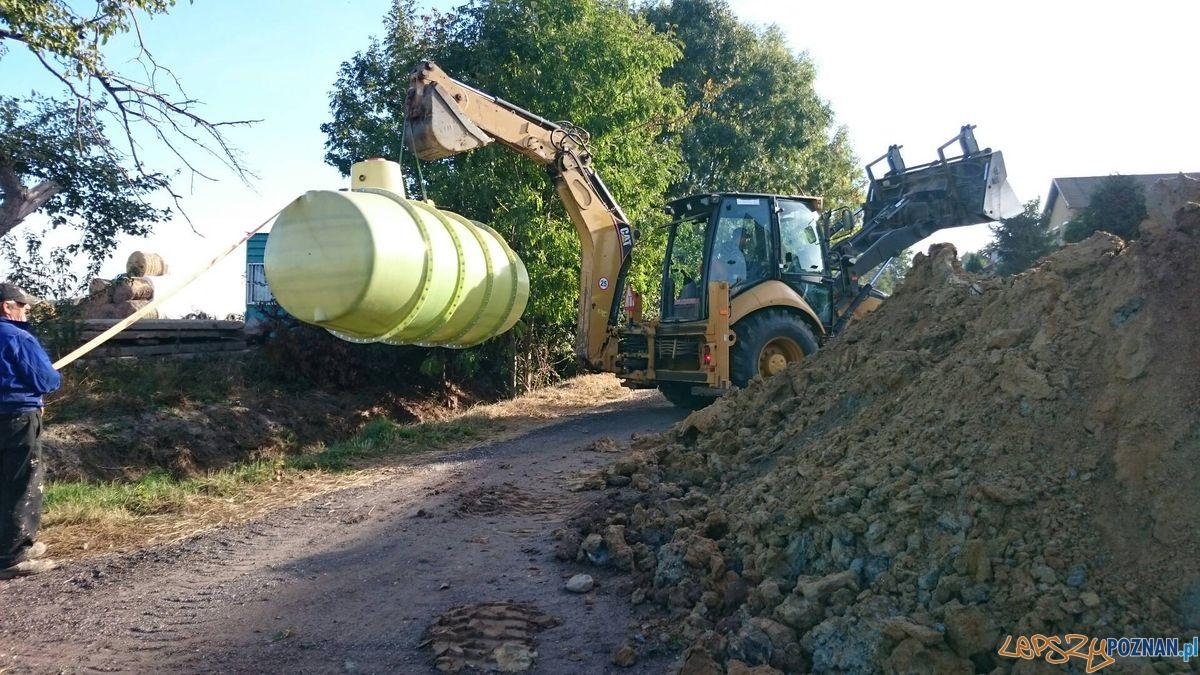 Na piątkowie nie ma jeszcze kanalizacji  Foto: SM