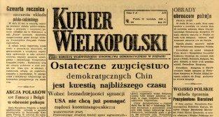 Kurier Wielkopolski - kwiecień 1949