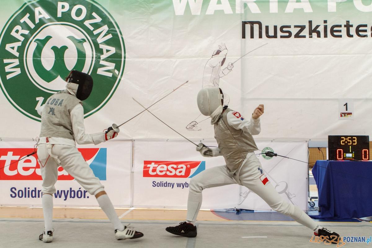 TESA Puchar Polski Juniorów w szermierce - Poznań 25.10.2015 r  Foto: LepszyPOZNAN.pl / Paweł Rychter