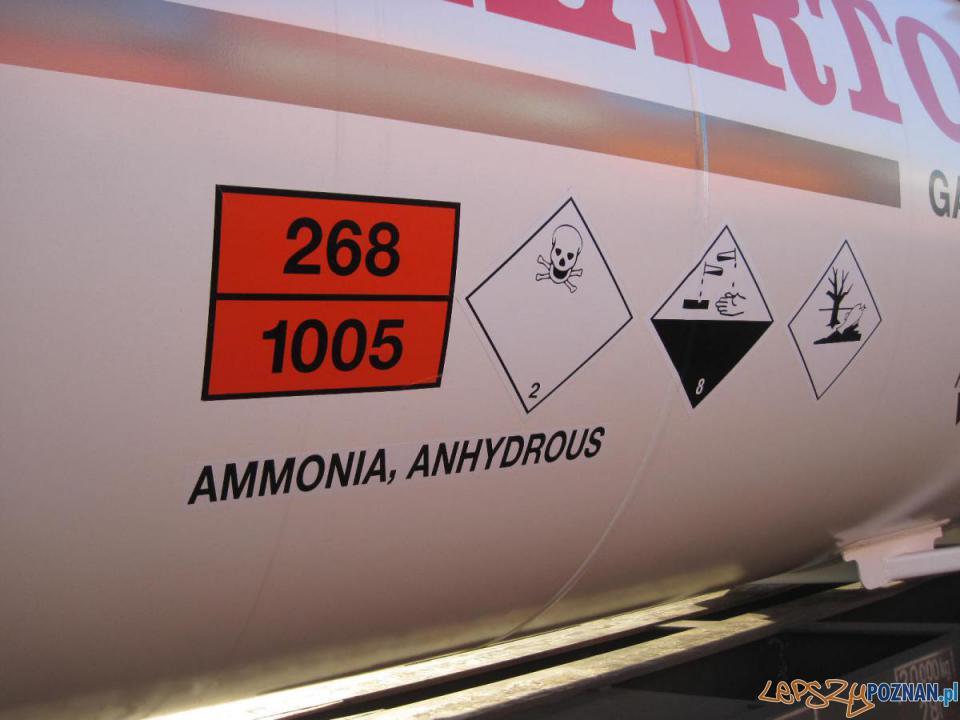 Wyciek amoniaku