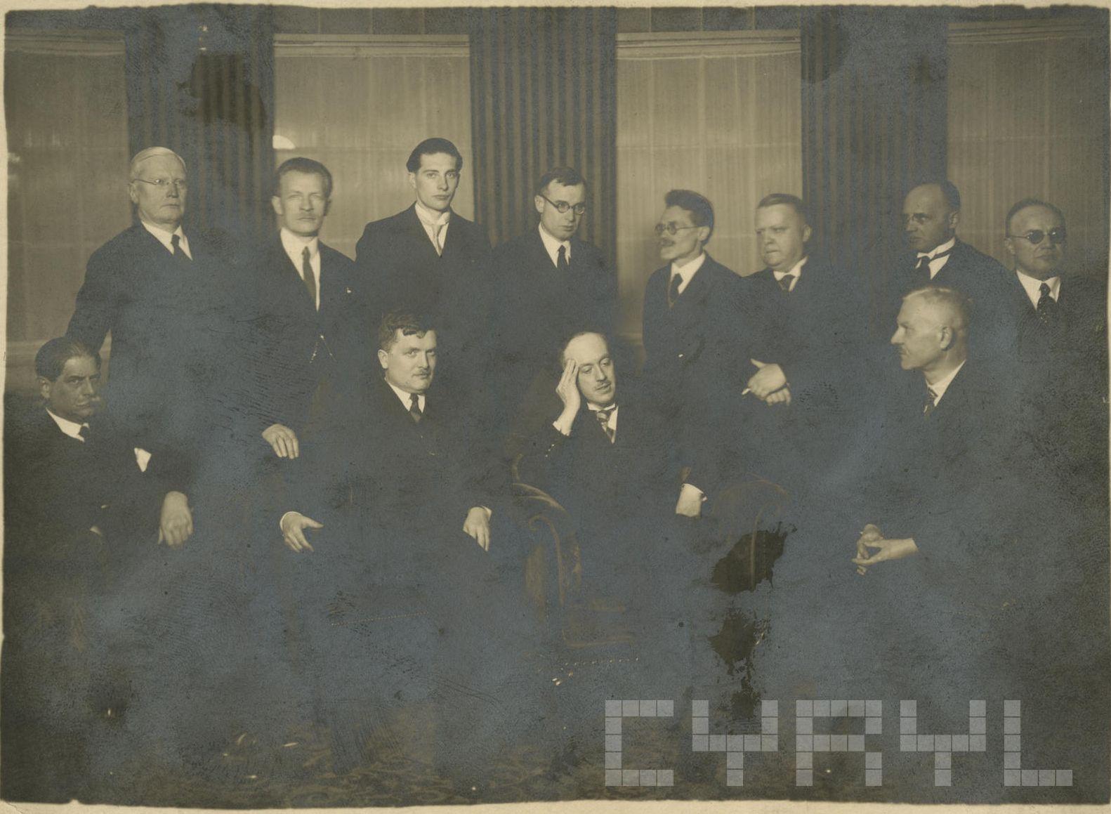 Profesorowie Uniwersytetu Poznańskiego 1935