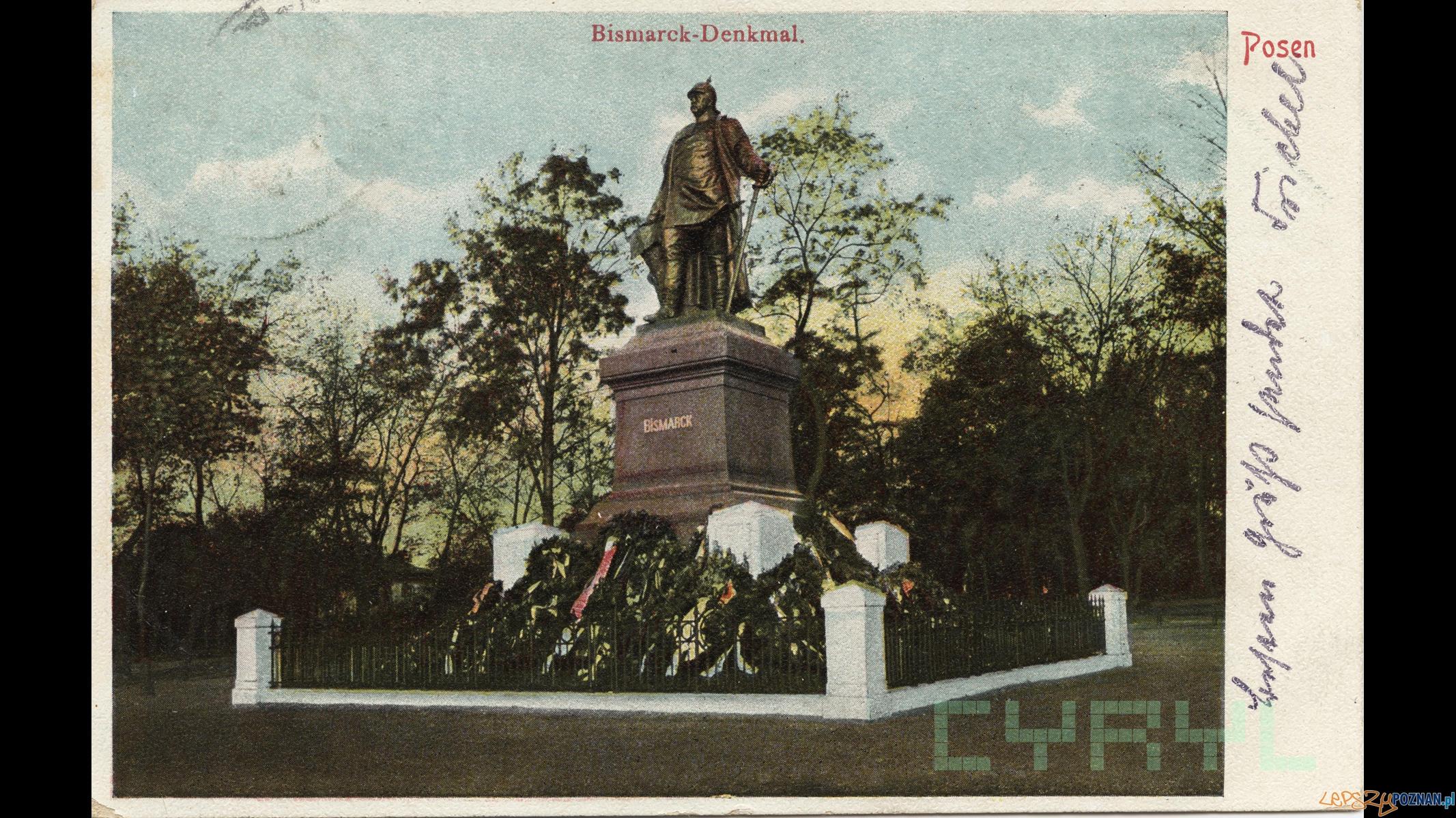 Pomnik Bismarska 1903-1905