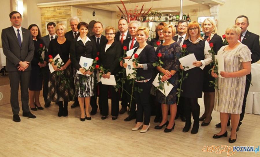 Wyróżnienia i nagrody dla nauczycieli  Foto: UMiG Kostrzyn