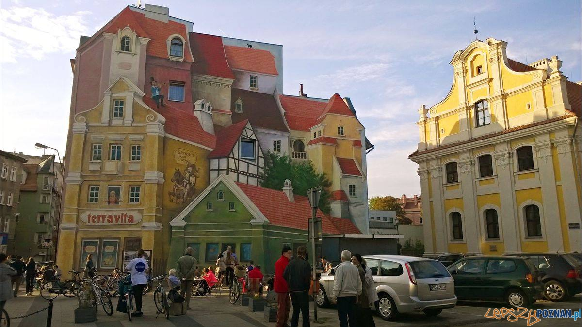Śródka - mural