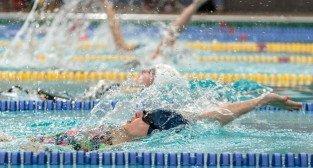 Na poznańskich Termach Maltańskich odbyły się Zimowe Mistrzostwa Okregu Wielkopolskiego w pływaniu - Poznań 15-16.02.2013 r.