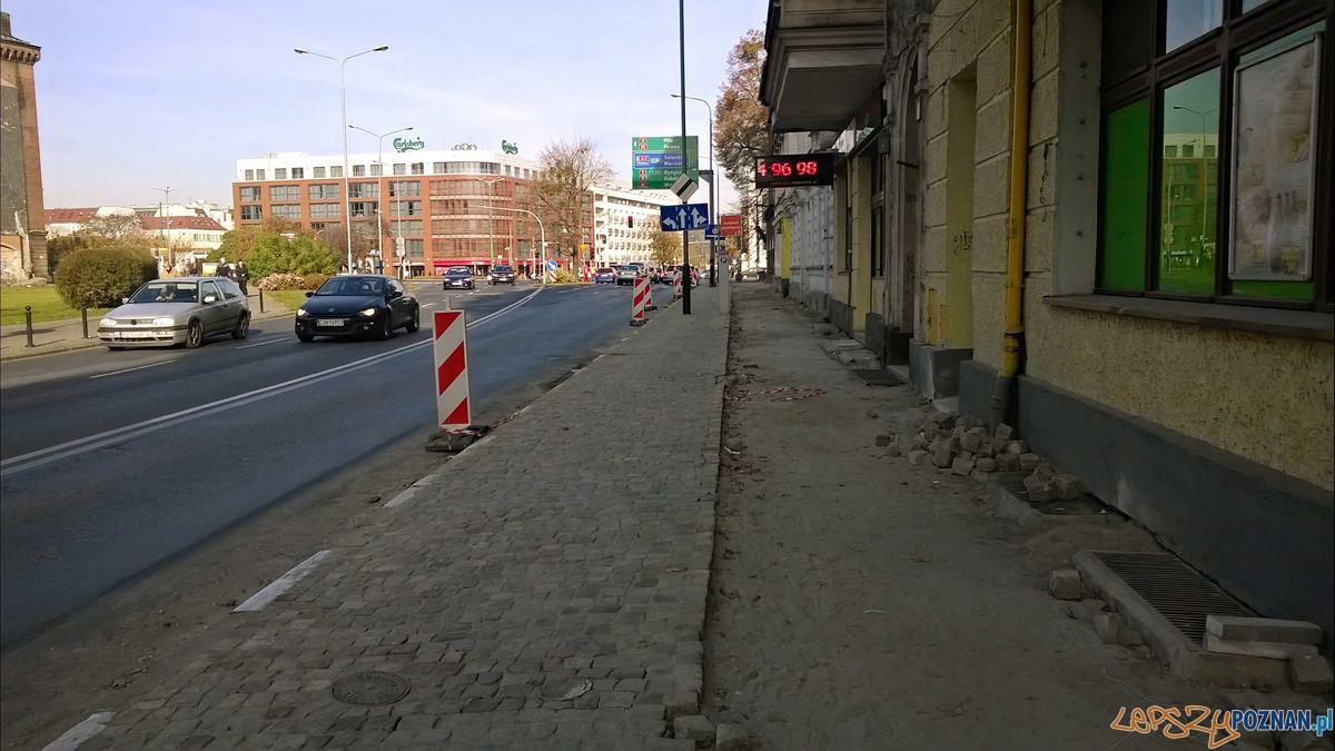 Chodnik na Garbarach  Foto: Rada Osiedla Stare Miasto